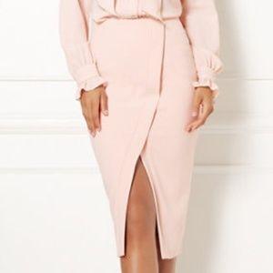 NWOT Eva Mendes Light pink skirt, 4
